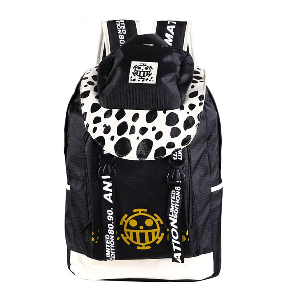 One Piece Backpack Black Large Capacity Travelling Backpack