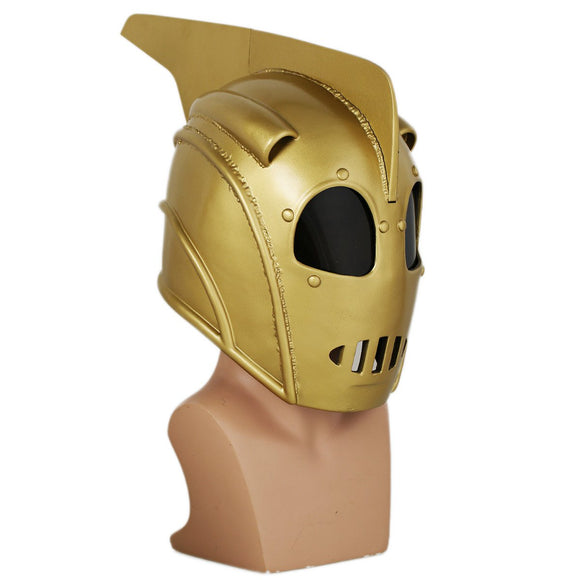 XCOSER Rocketeer Helmet Mask Props for Adult Halloween Cosplay Resin