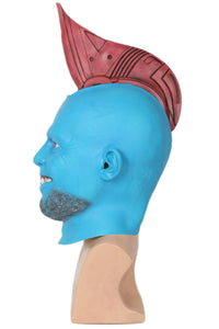 Xcoser Guardians of the Galaxy Yondu Head Fin Latex Mask For Adult