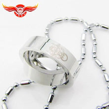 Final Fantasy Necklace Titanium Alloy Ring Necklace Final Fantasy Cospaly - Xcoser Costume