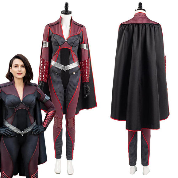 The Boys Season 2 Stormfront Women Jumpsuit Outfits Halloween Carnival Suit Cosplay Costume -1