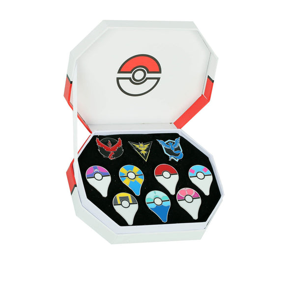 Pokemon GO Cosplay Accessories Gym Badges in Set of 10PCS