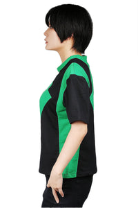 Kim Possible Shego T-shirt Green and Black Cotton T-shirt Kim Possible Cospaly Costume - Xcoser Costume