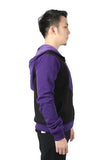 Xcoser New The Avengers Hawkeye Long-sleeved Zipper Hoodie Hawkeye Cosplay Costume