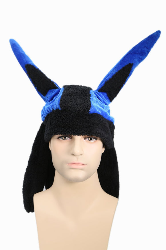 Pokemon Lucario Same Version Plush Hat Cosplay Accessory