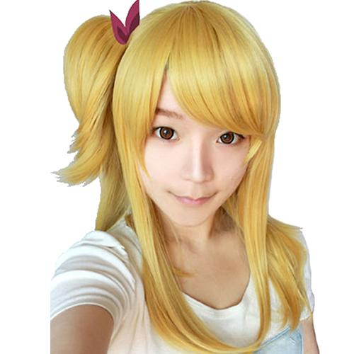 Lucy Wig Fairy Tail Lucy Heartfilia Cosplay Wig Anime Cosplay Wig