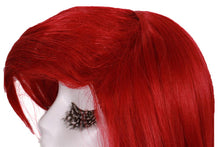 Ariel Wig Disney The Little Mermaid Ariel Cosplay Anime Red Long Wavy Wig - Xcoser Costume