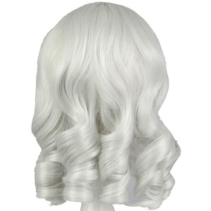 Annie Wig League of Legends Annie Cosplay Short Silvery White Curly Costume Wig 33cm - Xcoser Costume