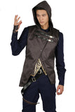 Xcoser Corvo Attano Costume Deluxe Full Set Outfits Game Dishonored 2 Cosplay Costume