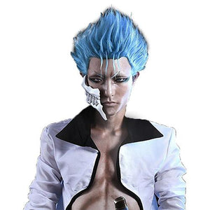 Grimmjow Jeagerjaques Wig Bleach Cosplay Pre-styled Wig Half Price Sale for USA ONLY
