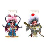 REDEMPTION:Chinese Elements Beijing Opera & A Dream of Red Mansions Etc Silk Figurine Dolls