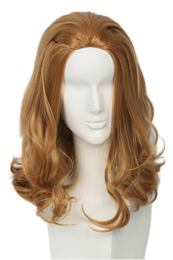 Beauty and the Beast Movie Version Brown Slightly Wavy Wig The Beast Cosplay Wig - Xcoser Costume