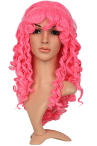 Rose Quartz Wig Long Wavy Pink Wig Anime Steven Universe Cosplay Props