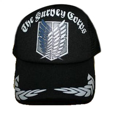 Attack on Titan Adjustable Cap Men Women Visor Mesh Hat - Xcoser Costume