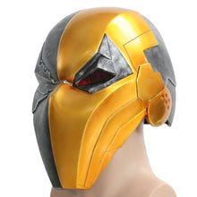 Deathstroke Helmet Game Version Injustice Gods Among Us Deathstroke Resin Full Head Mask Adult - Xcoser Costume