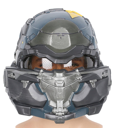 Xcoser Halo 5: Guardians Spartan Resin Helmet Game Cosplay Helmet with Xcoser Logo