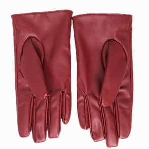 Xcoser The Red PU Gloves The Flash Cosplay Accessories