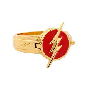 Xcoser The Flash Rings Alloy Rings Cosplay Accessory with Xcoser Logo