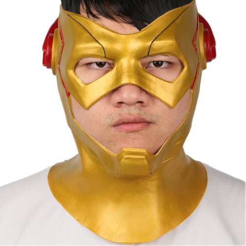 Xcoser The Kid Flash Wally West Latex Mask Kid Flash Cosplay Props