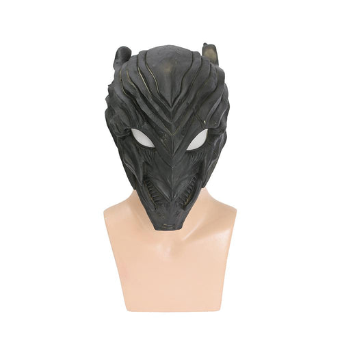 Xcoser The Flash Savitar Black Full Head Cosplay Mask