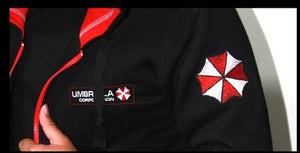 Resident Evil 5 Costumes Umbrella Corporation Hoodie Embroidery Cotton Version (Daily Deal)