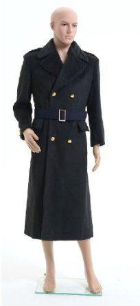 Doctor Who Captain Jack Harkness Wool Wind Coat - Xcoser Costume