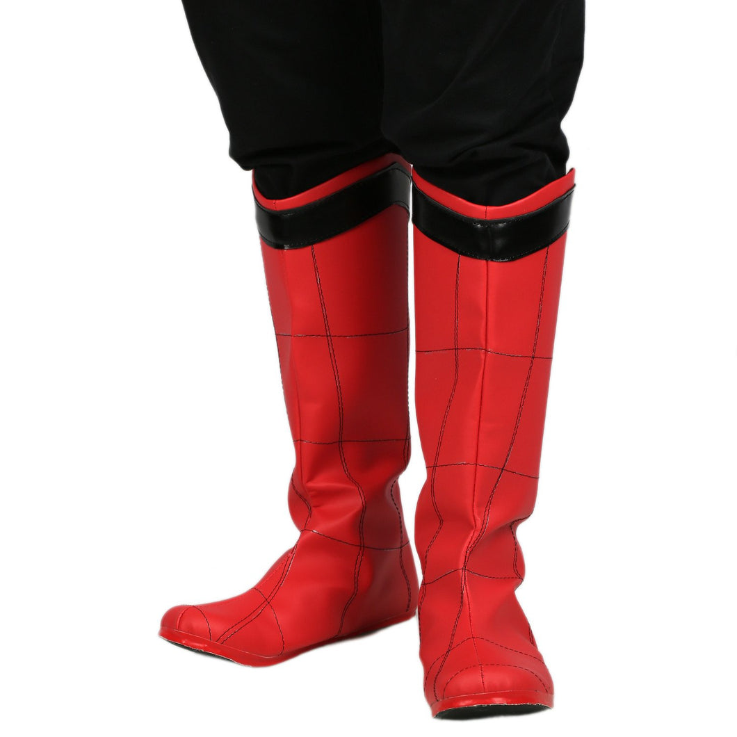 Spiderman Boots Spider-Man: Homecoming Cosplay Shoes