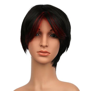 Xcoser Gotham 3 Fish Mooney Black Short Wig Gotham Cosplay Props
