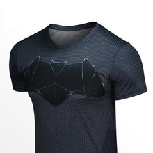 Cosplay Costume Batman v Superman Loose T Shirt Men Round Neck Short-sleeved Summer T-shirt For DC Heroes