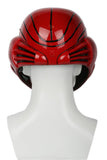 Metroid Samus Aran Cosplay Helmet Deluxe Red Soft Resin Helmet with LED Light