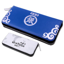 Gintama Wallet Cute Anime Long PU Zipper Wallet Double Color Clutch Handbag Purse - Xcoser Costume