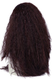 Moana Waialiki Cosplay Wig Brown Color Long Curly Permed Hair Cosplay and Halloween Props