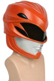 Xcoser Free Shipping Power Rangers 2017 Movie Version Red Ranger Helmet for Adults