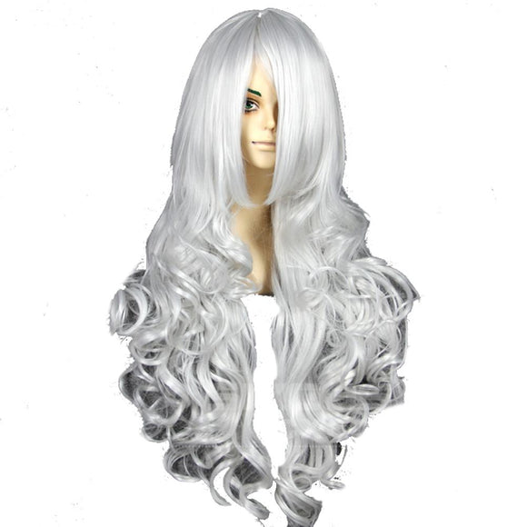 Spider-Man Black Cat Wig Long Wavy Hair Black Cat Cosplay Accessories