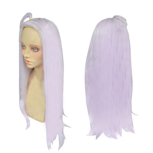 Mirajane Wig Fairy Tail Mirajane Cosplay Long Purple Wavy Cosplay Costume Anime Wig - Xcoser Costume