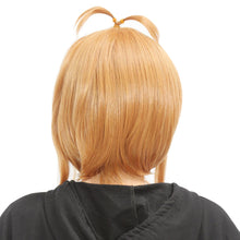 Cardcaptor Sakura Wig Sakura Kinomoto Cosplay Short Golden Brown Wig