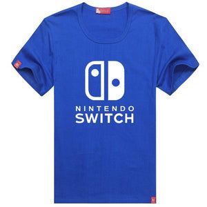 Xcoser Nintendo Switch Logo Cotton T-Shirt