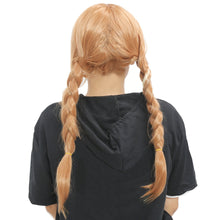 Xcoser Costumes Frozen Cosplay Wig Anna Hair Tails Hair Style
