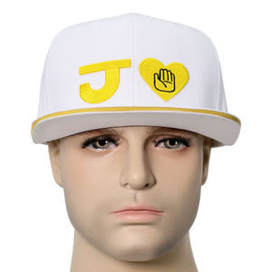 XCOSER Anime JoJo's Bizarre Adventure Baseball peak Cap Hat For Cosplay