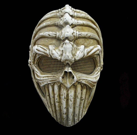 Xcoser Alien Bone Cosplay Resin Mask for Halloween