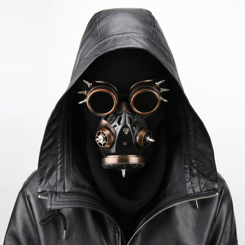 Steampunk Anti-toxic Cosplay Mask