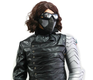Captain The Winter Cool Soldier Bucky Barnes Goggles Plastic Prop