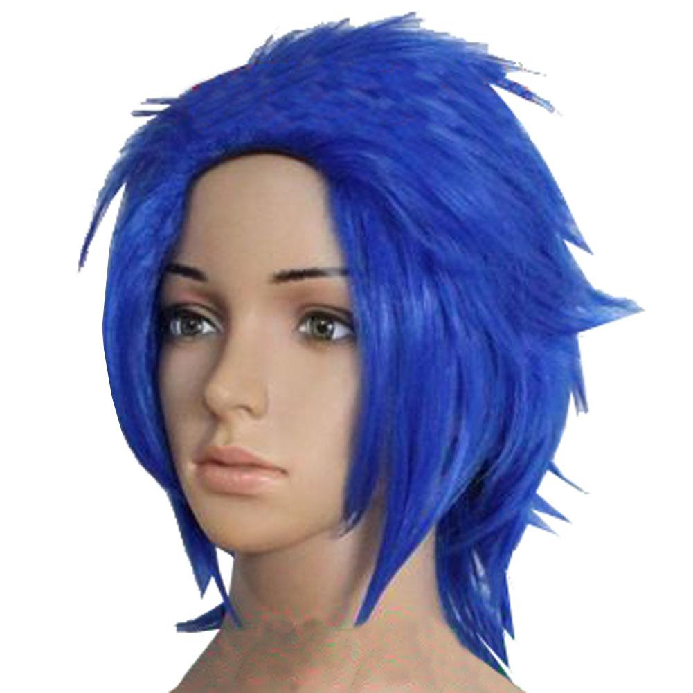Levy Mcgarden Wig Fairy Tail Levy Short Blue Cosplay Anime Costume Wig - Xcoser Costume
