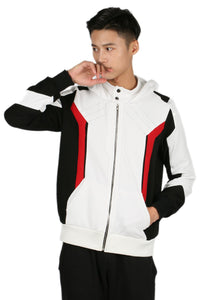 Soldier 76 Hoodie Cotton Hooded Sweatshirt the Game Overwatch Cosplay Costume