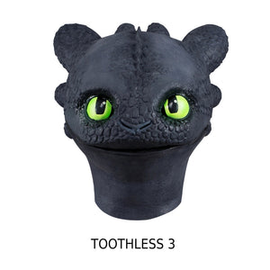 XCOSER How to Train Your Dragon 3 Toothless Cosplay Mask
