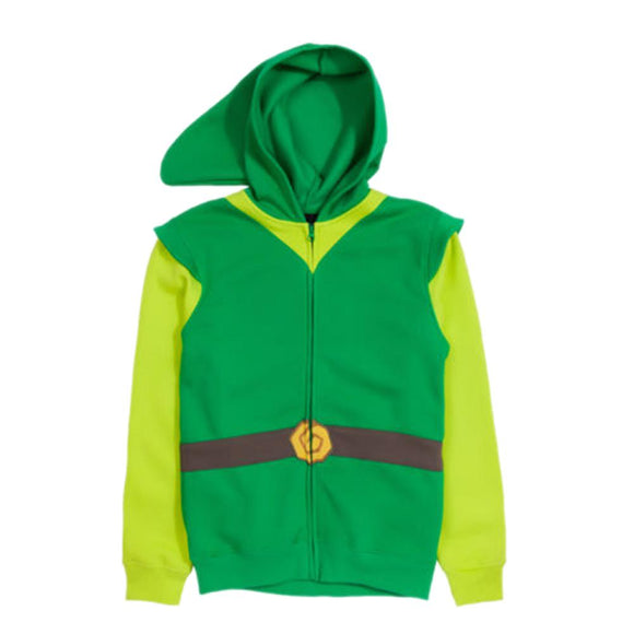 The Legend of Zelda Link Hoodie Cotton Zip Unisex Hooded Sweatshirt
