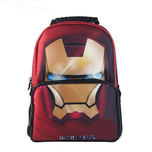Iron Man Backpack Cool and Durable Kids Backpack For Primary School With Decompression System - Xcoser Costume
