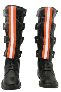 Ghostbusters Boots Black PU Boots for Cosplay - Xcoser Costume