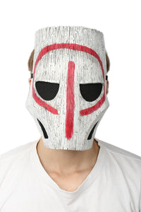 Xcoser Initial Release Horizon Mask Resin White Adjustable Mask