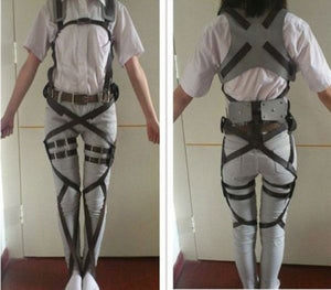 Attack on Titan Harness and Belt Shingeki no Kyojin Cosplay Costume - Xcoser Costume